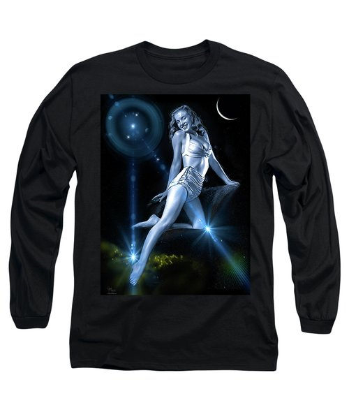 Marilyn Monroe - A Star Was Born Long Sleeve T-Shirt