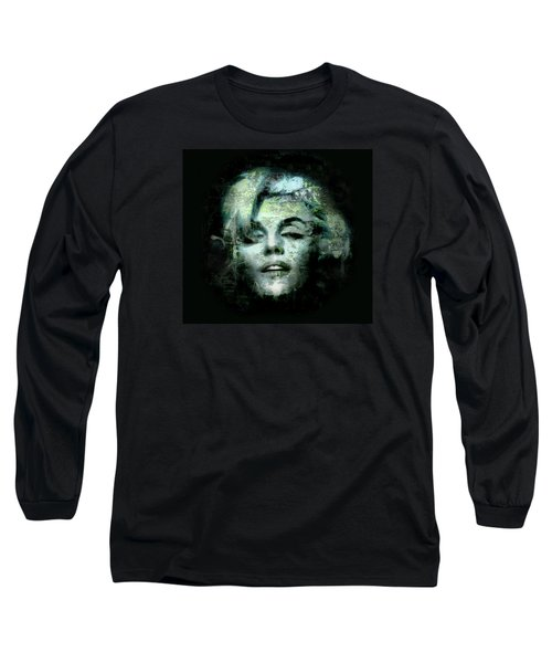 Marilyn Monroe Long Sleeve T-Shirt by Kim Gauge