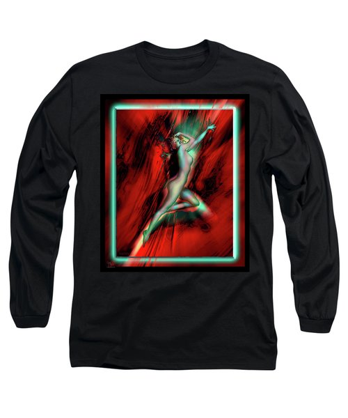 Marilyn's Rose Long Sleeve T-Shirt