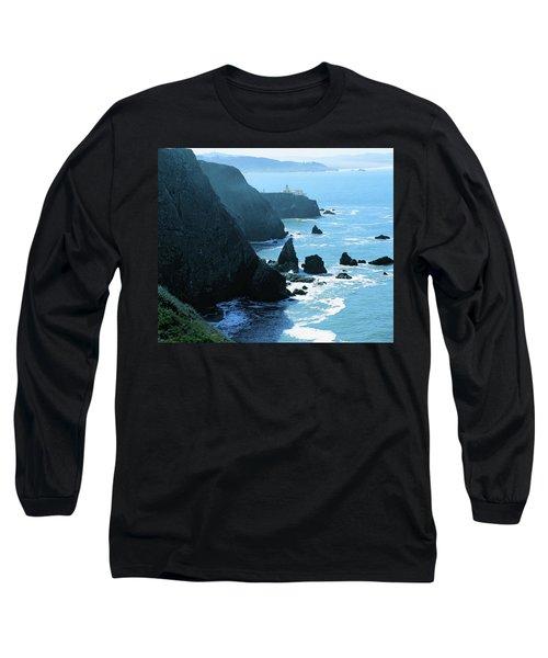 Marin Coastline Long Sleeve T-Shirt by Utah Images