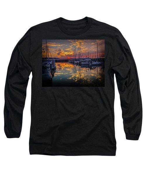 Marina Sunset Long Sleeve T-Shirt