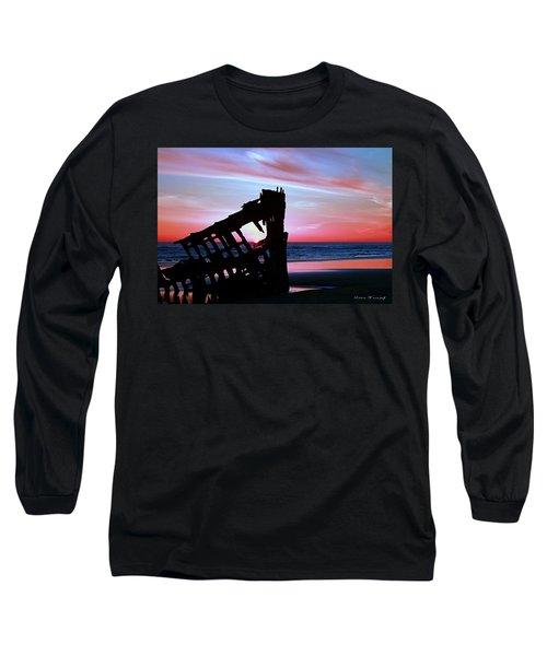 Mariners Sky 20 Long Sleeve T-Shirt by Steve Warnstaff