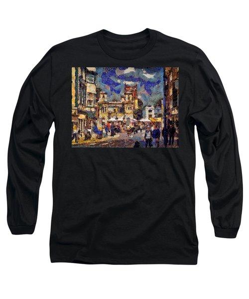 Market Square Monday Long Sleeve T-Shirt