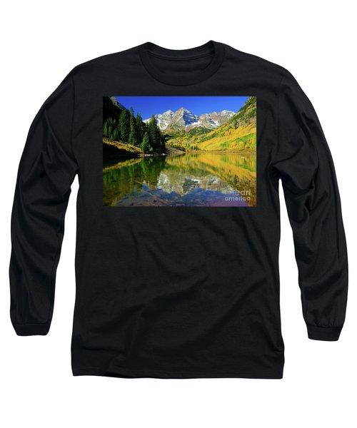 Maroon Lake Autum - 1 Long Sleeve T-Shirt