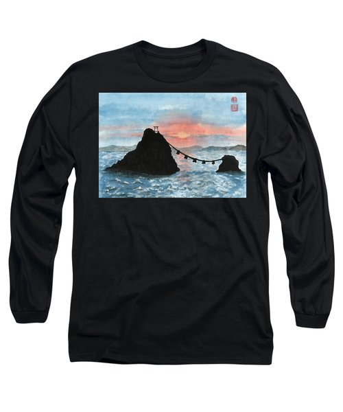 Married Couple Rocks At Sunrise Long Sleeve T-Shirt