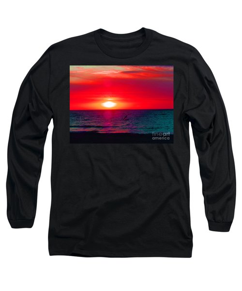 Mars Sunset Long Sleeve T-Shirt