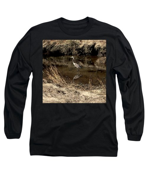 Marsh Bird Long Sleeve T-Shirt