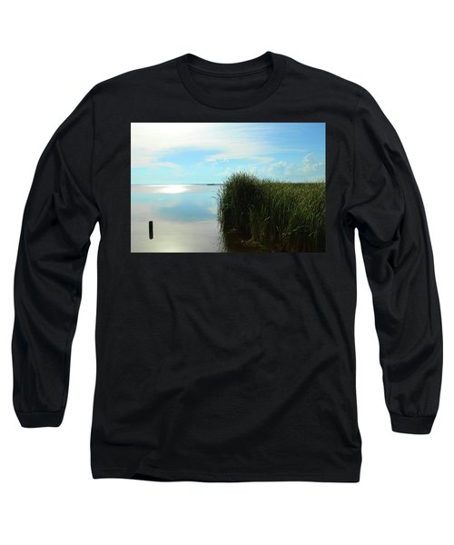 Marshland Long Sleeve T-Shirt by David Stasiak