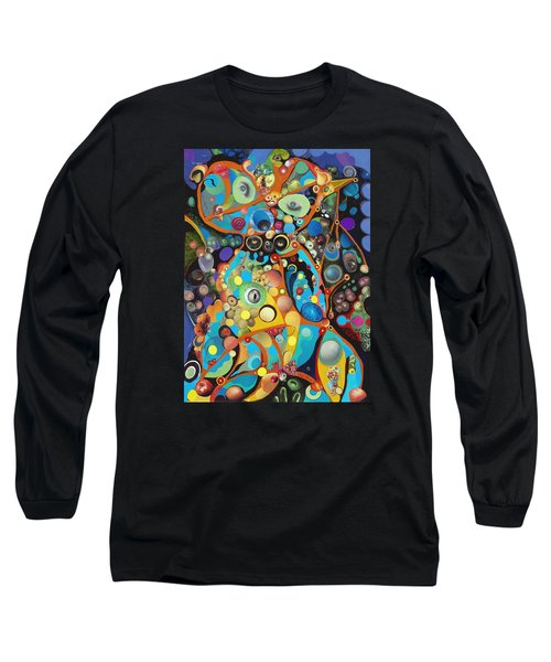 Martian Venusian Long Sleeve T-Shirt by Douglas Fromm
