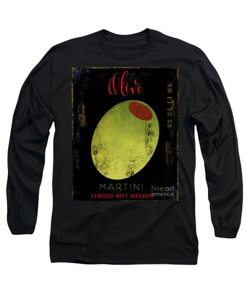 Martini Olive Long Sleeve T-Shirt