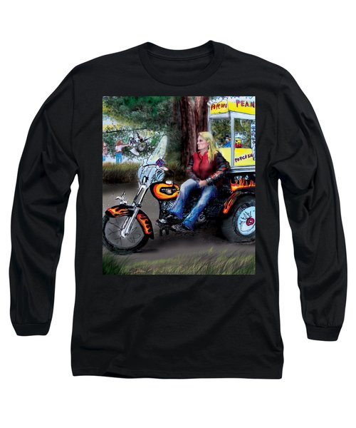 Marty's Harley Long Sleeve T-Shirt