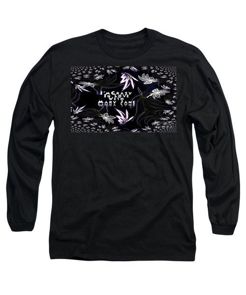 Mary Jane The Wallpaper Long Sleeve T-Shirt by Jacqueline Lloyd