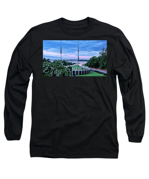 Maryland World War II Memorial Long Sleeve T-Shirt