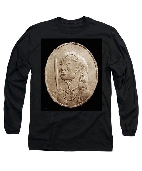 Masai Warrior Long Sleeve T-Shirt