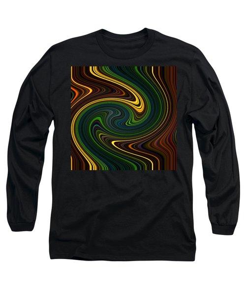 Masculine Waves Long Sleeve T-Shirt