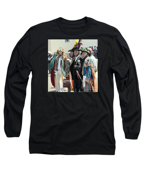 Masqueraders Of Sao Tome Long Sleeve T-Shirt