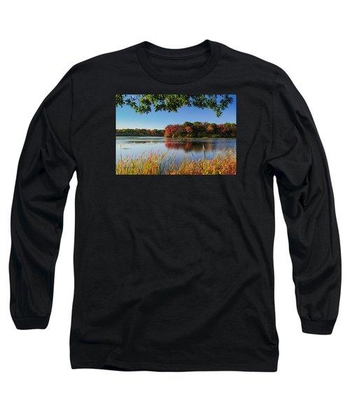 Massapequa Nature Preserve Long Sleeve T-Shirt by Jose Oquendo