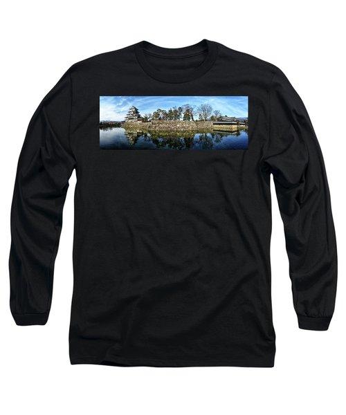 Matsumoto Castle Panorama Long Sleeve T-Shirt