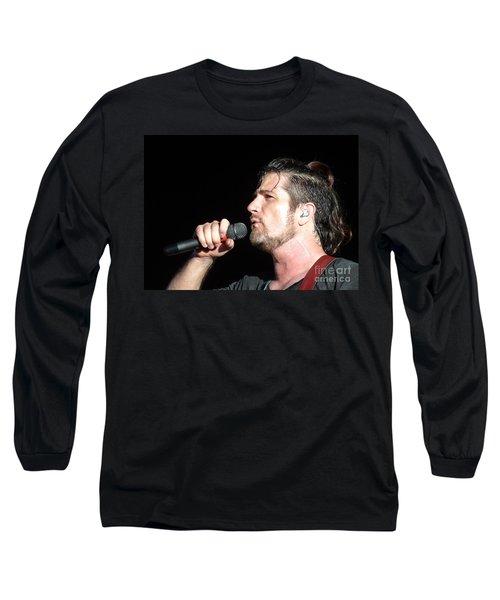 Matt Nathanson Long Sleeve T-Shirt by Cindy Manero