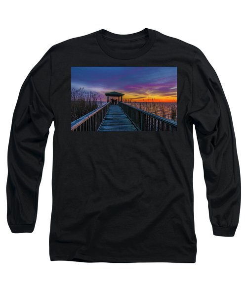 Mattamuskeet Lake Long Sleeve T-Shirt