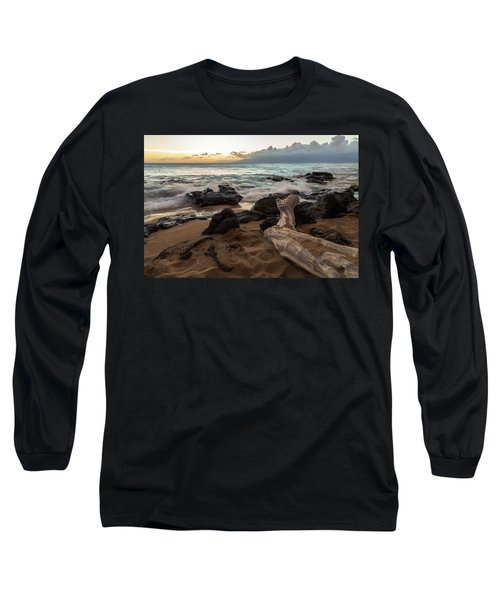 Maui Beach Sunset Long Sleeve T-Shirt
