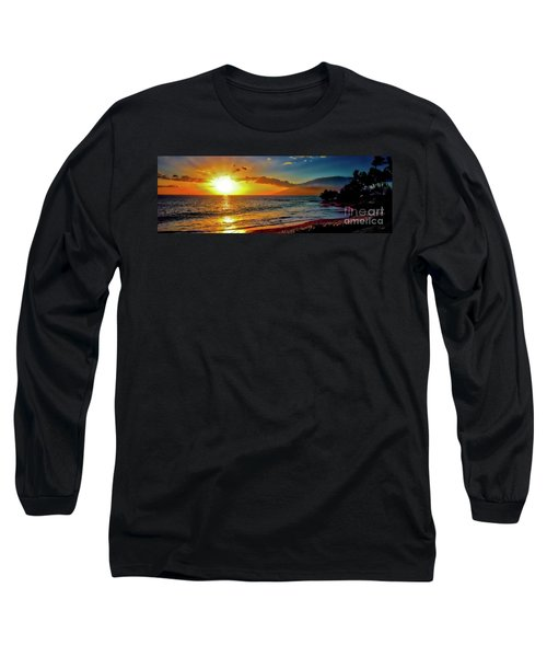 Maui Wedding Beach Sunset  Long Sleeve T-Shirt