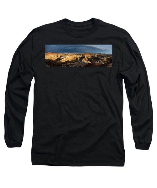 Maze Panorama Long Sleeve T-Shirt