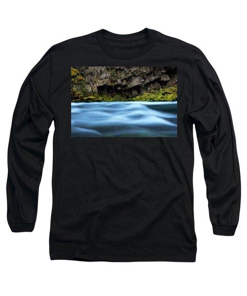 Mckenzie Blue Long Sleeve T-Shirt