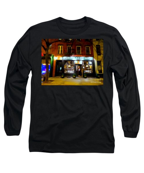 Mcsorleys At Night Long Sleeve T-Shirt