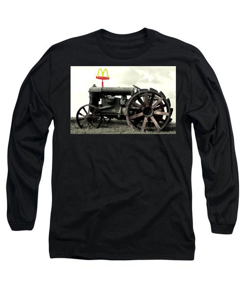 Mctractor Big Mac Long Sleeve T-Shirt