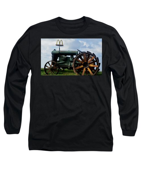 Mctractor Long Sleeve T-Shirt by Gary Smith