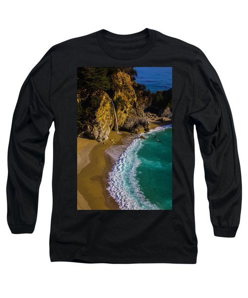 Mcway Cove Beach Long Sleeve T-Shirt