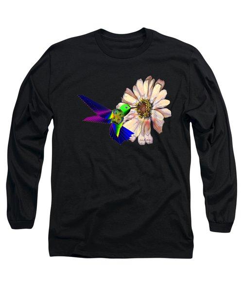 Mecha Whirlygig Long Sleeve T-Shirt by Iowan Stone-Flowers