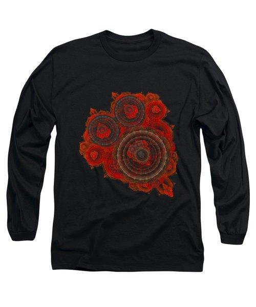 Mechanical Heart Long Sleeve T-Shirt by Martin Capek