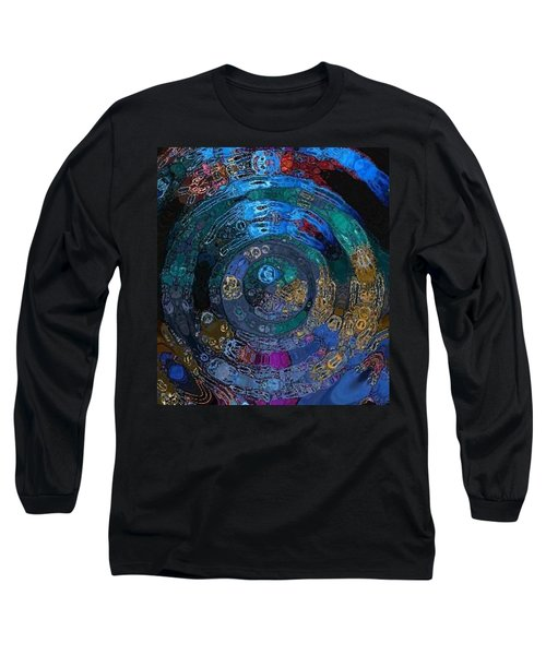 Medallion Batik Long Sleeve T-Shirt