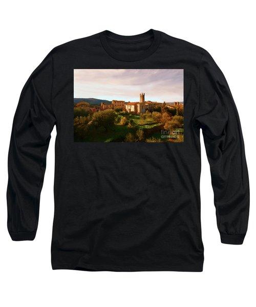 Medieval Tuscany Long Sleeve T-Shirt