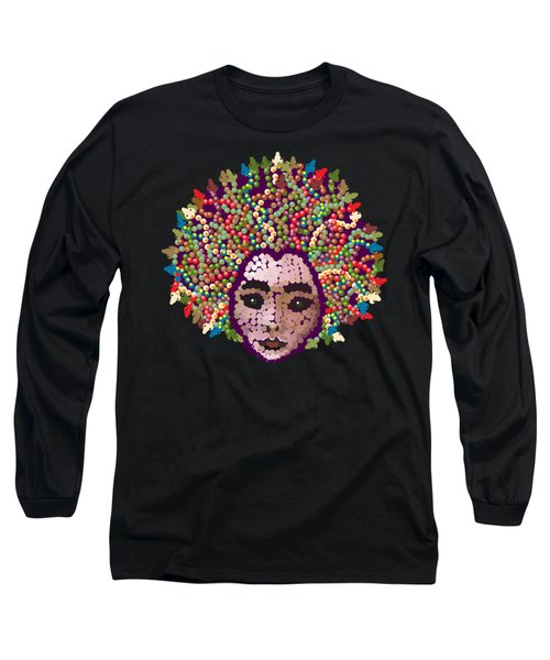 Medusa With Transparent Background Long Sleeve T-Shirt