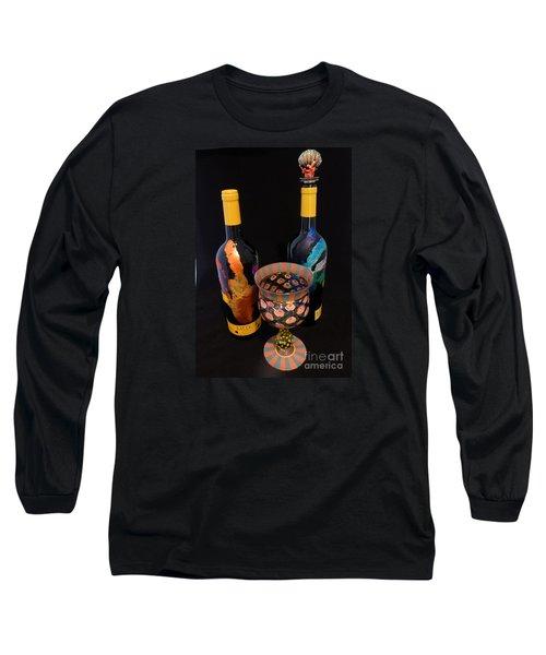 Meeker Merlot Merriment Long Sleeve T-Shirt