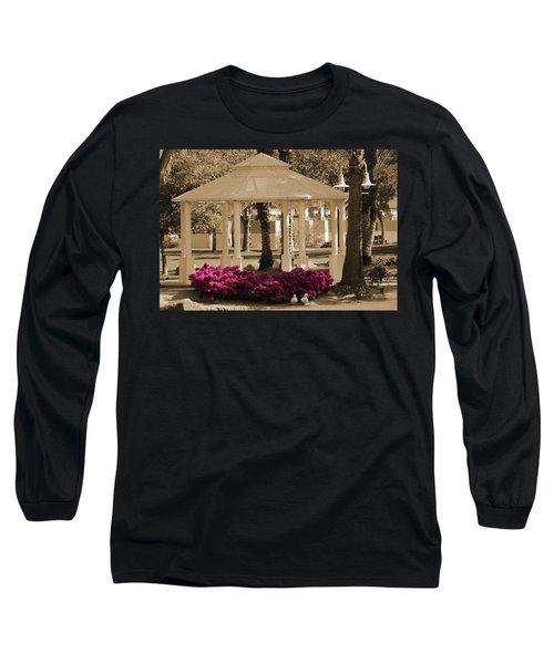 Meet Me At The Gazebo Long Sleeve T-Shirt