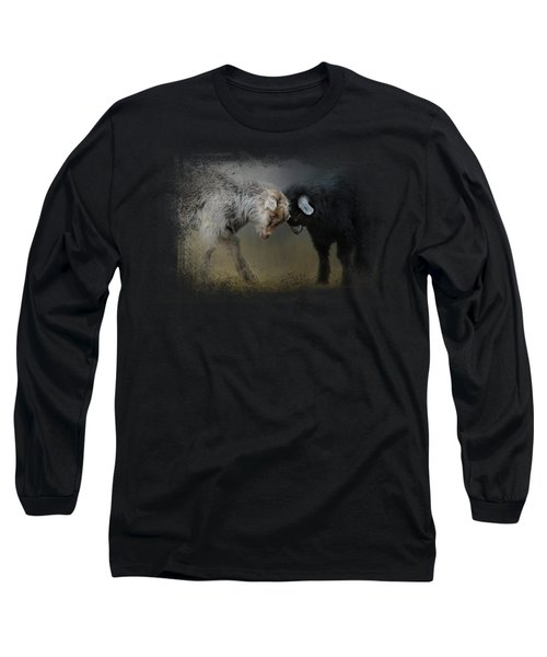 Meeting Of The Minds Long Sleeve T-Shirt by Jai Johnson