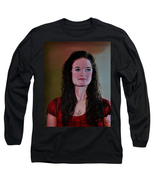 Megan At Eighteen Long Sleeve T-Shirt