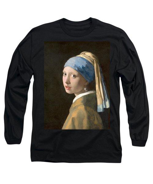 Meisje Met De Parel Long Sleeve T-Shirt