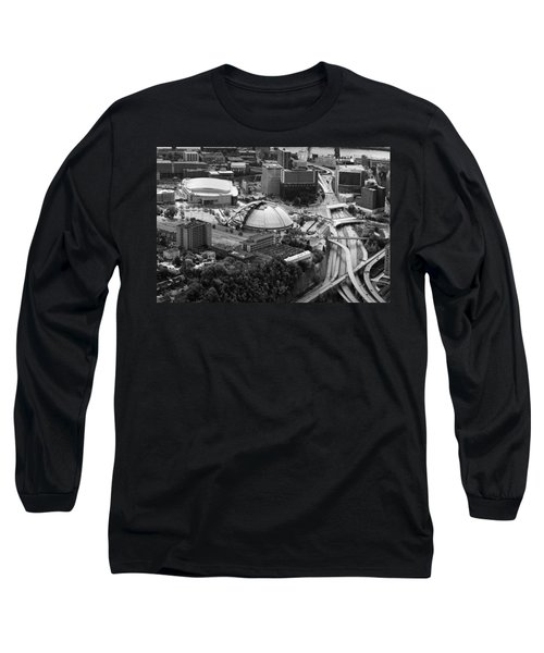 Mellon Arena  Long Sleeve T-Shirt
