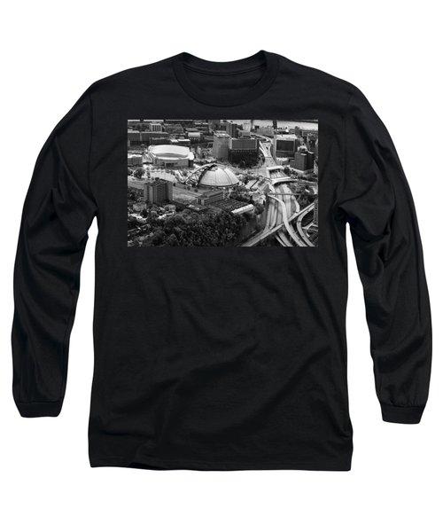 Mellon Arena  Long Sleeve T-Shirt