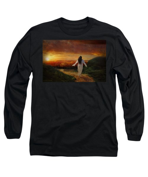 Melt Long Sleeve T-Shirt by Lianne Schneider