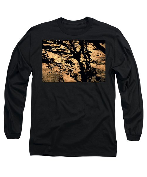 Melted Chocolate Long Sleeve T-Shirt