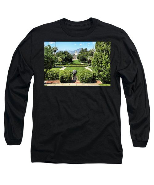 Memorial Chapel University Of Redlands Long Sleeve T-Shirt by Mariola Bitner