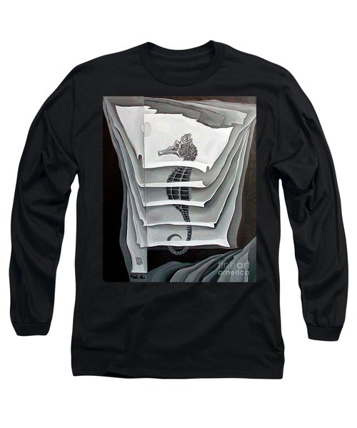Memory Layers Long Sleeve T-Shirt by Fei A