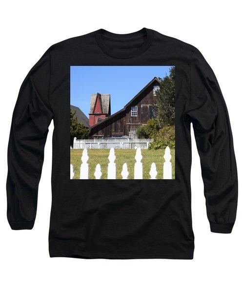 Mendocino Barn Long Sleeve T-Shirt