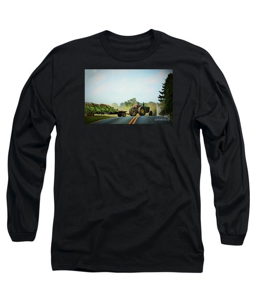 Menonnite Tobacco Farmer And Wife Long Sleeve T-Shirt